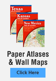 Paper Atlases & Wall Maps